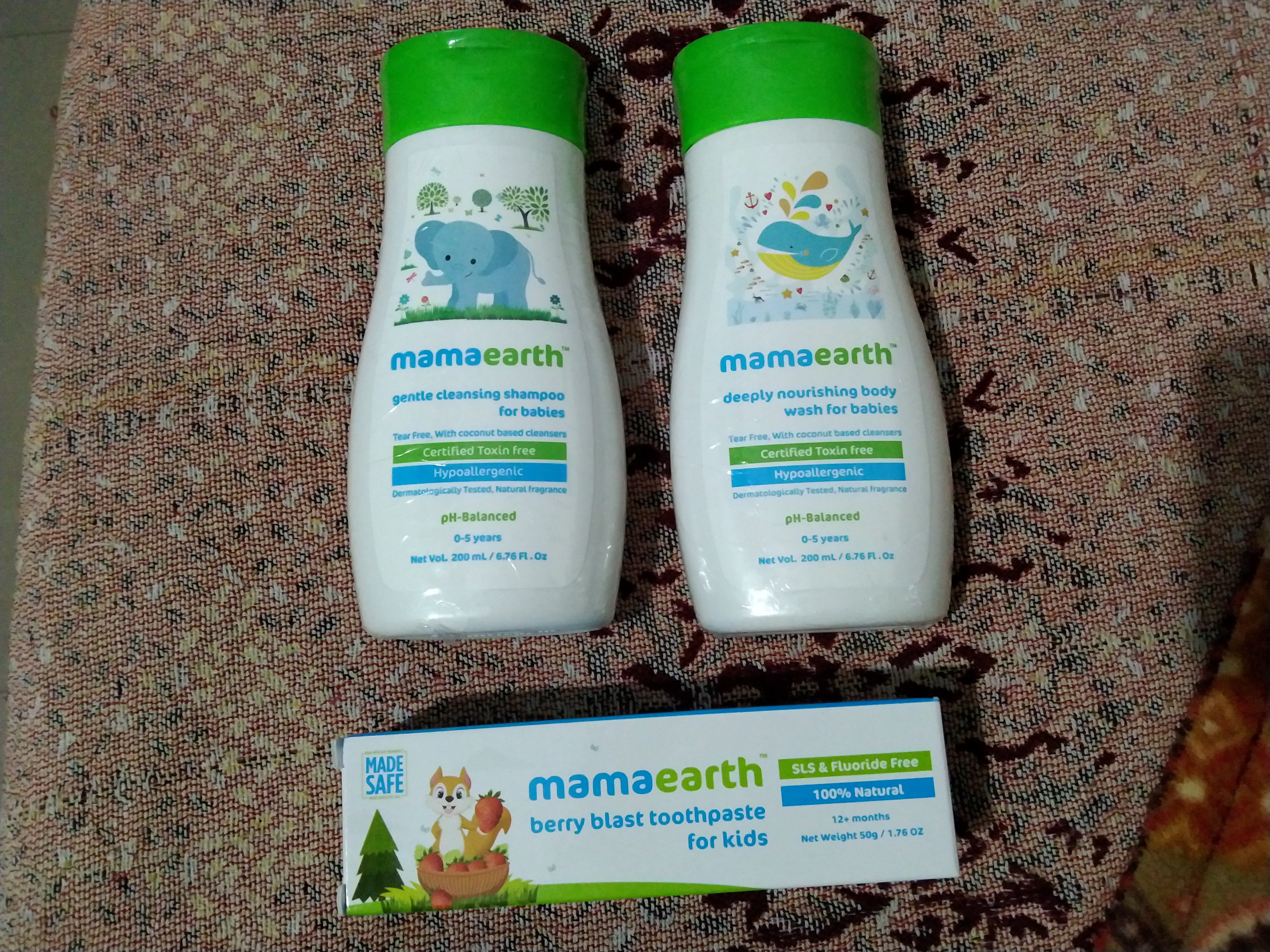 Mamaearth Complete Baby Care Kit-Handy baby kit-By sakshi116