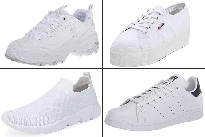 19 Best White Sneakers For Women In 2020