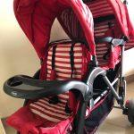 Babyhug Easy Foldable Twin Stroller-Twin baby stroller-By dharanirajesh16