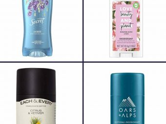 20 Best Deodorants For Women In 2021