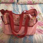 Mee Mee Diaper Bag Teddy Bear Print-Teddy print diaper bag-By sonisejwal