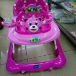 Mee Mee Baby Walker with Adjustable Height and Push Handle Bar-Cute and colorful-By jayasree0806