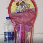 Barbie Badminton Racket With Cover-Barbie badminton racket-By amarjeet