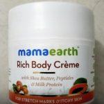 Mamaearth Stretch Marks Cream-Stretch marks cream-By amarjeet