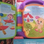 Fisher Price Storybook Rhymes Musical Toy-Story book rhymes musical chair-By amarjeet