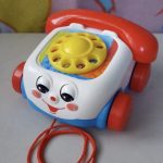 Fisher Price Pull Along Chatter Toy Telephone-Fisher price telephone-By amarjeet