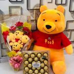 Disney Lazy Pooh Soft Toy-Pooh bear-By dharanirajesh16