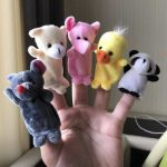 Kuhu Creations Animal Finger Puppets Pack-Finger puppets-By chithrasara