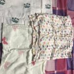 Mom's Home Organic Cotton Muslin Swaddle Cum Bath Towel Printed Pack-moms home organic muslin swaddles-By dharanirajesh16