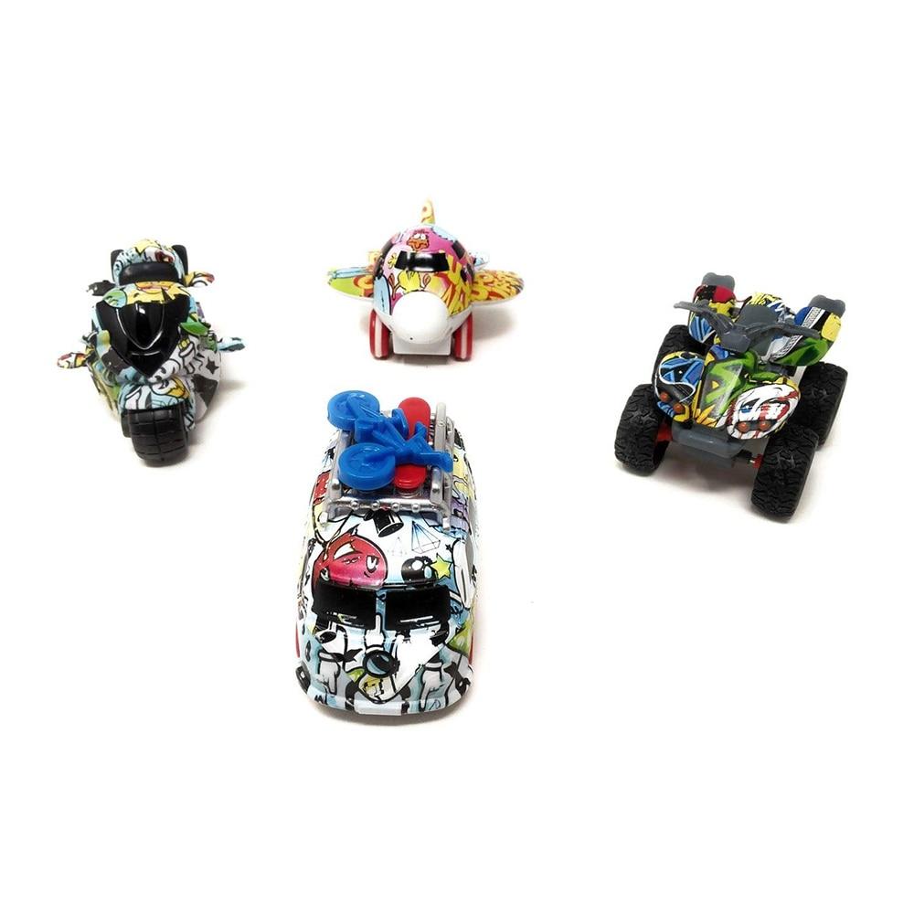 Akrobo Mini Dicast Friction Powered Metal Body Toy