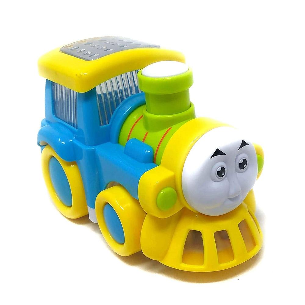 Akrobo Musical Thomas Plastic Train with Lights