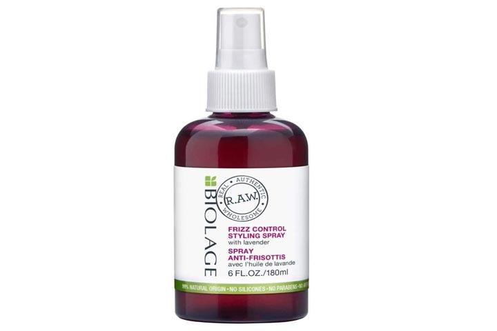 BIOLAGE RAW Frizz Control Styling Hair Spray