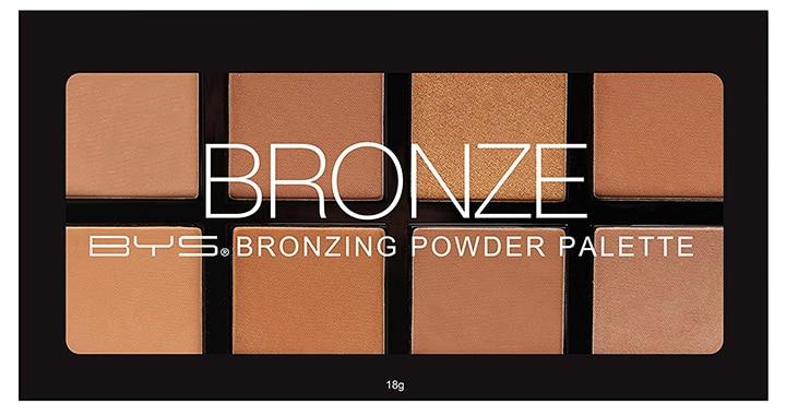 BYS Bronzing Powder Palette - 8 Color Shades