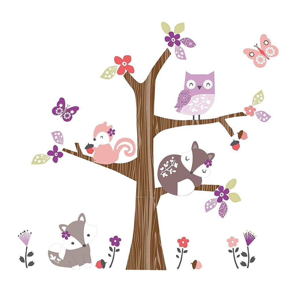Bedtime Originals Lavender Woods Wall Appliques