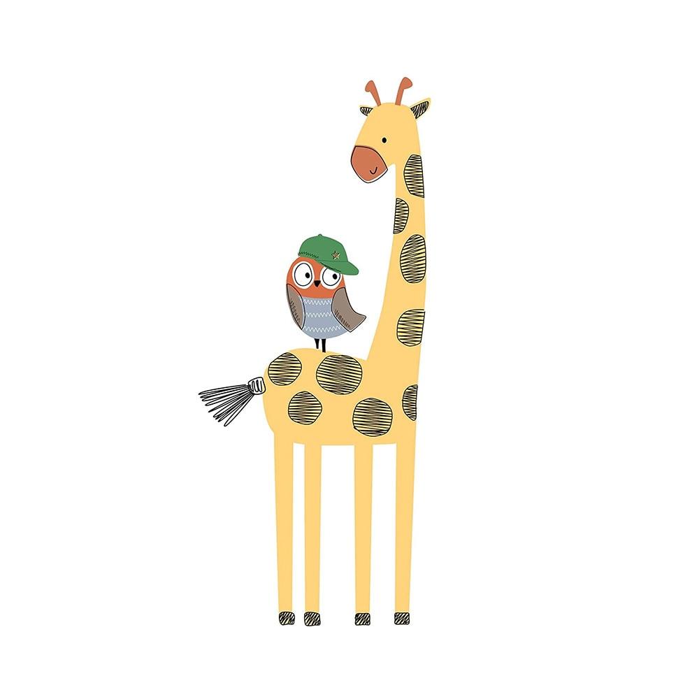 Bedtime Originals Baby League Giraffe Wall Appliques