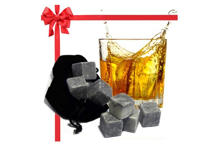 Best Whiskey Stones Gift Set With Magnetic Closure