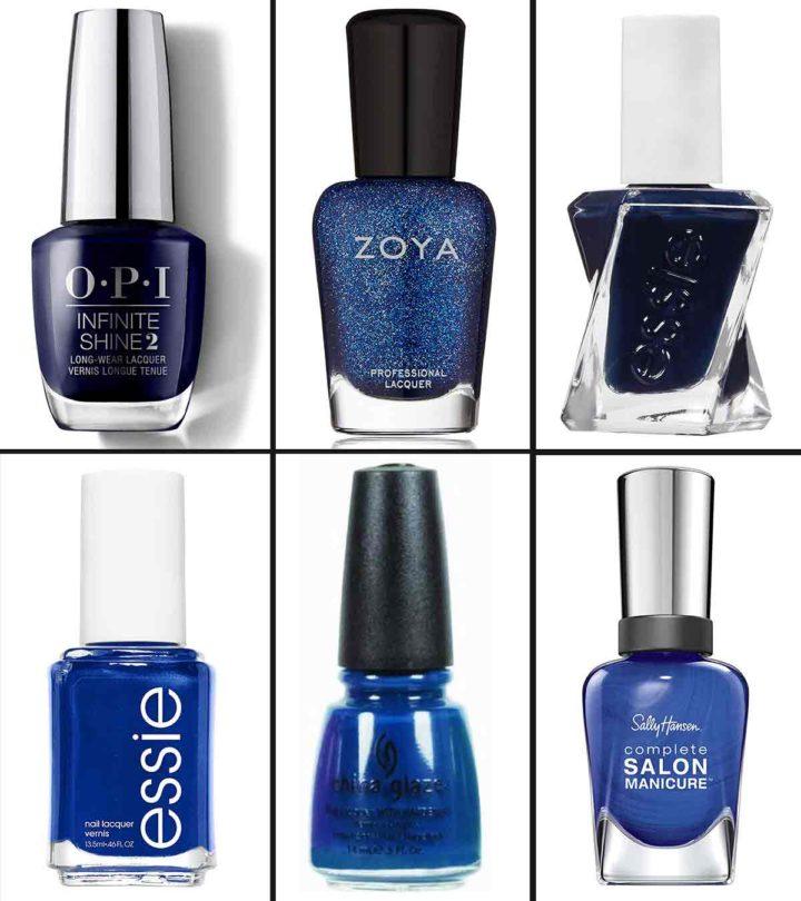 Blue Nail Polish-web
