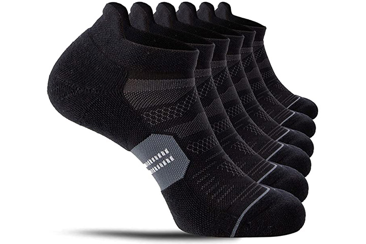 CelerSport Running Ankle Socks