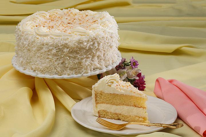Coconut Angel Cake