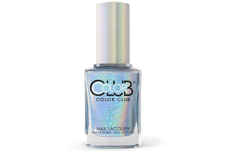 Color Club Halographic Hues Nail Polish, Blue Heaven