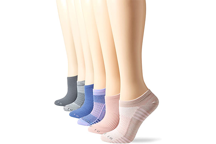 Core 10 Women's Performance Sport Athletic No-Show Socks