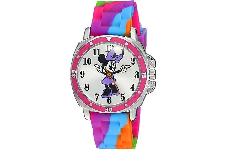 Disney Kids Minnie Tie and Dye Watch
