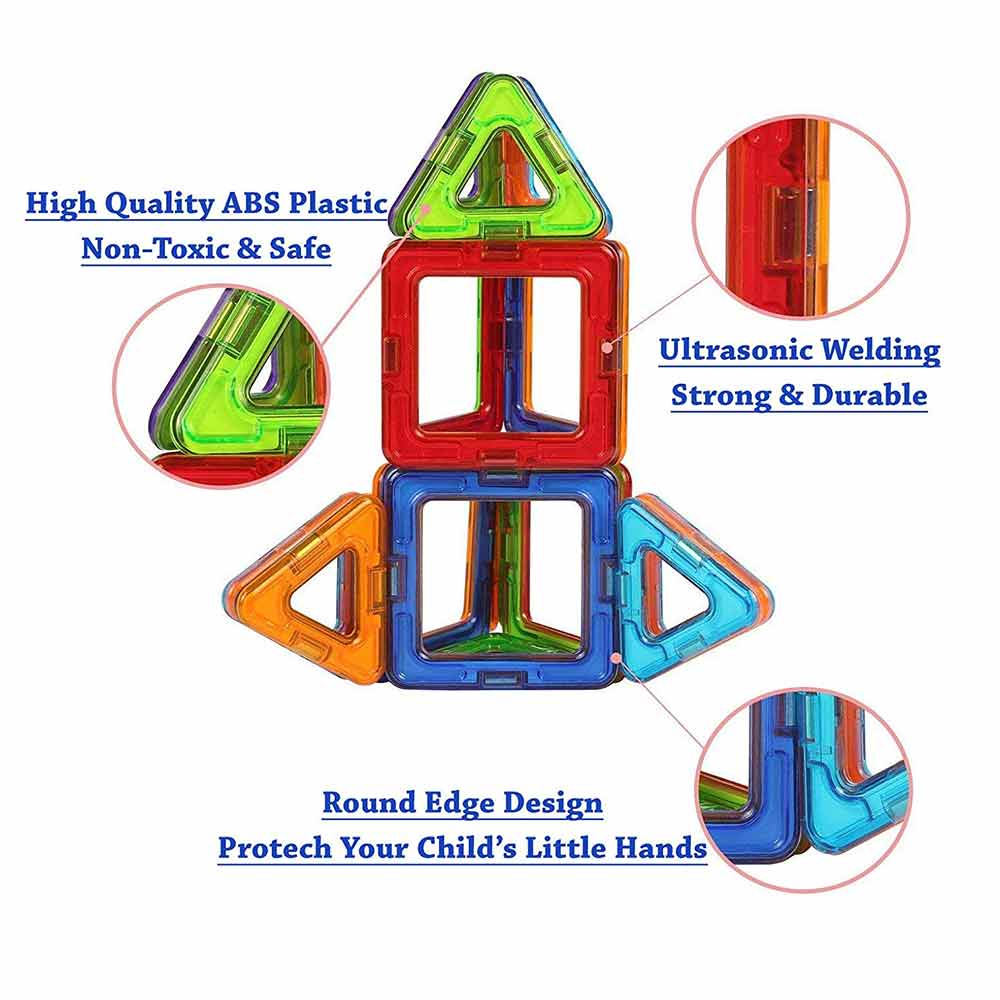 FLYING START Magna Blocks Building Toys
