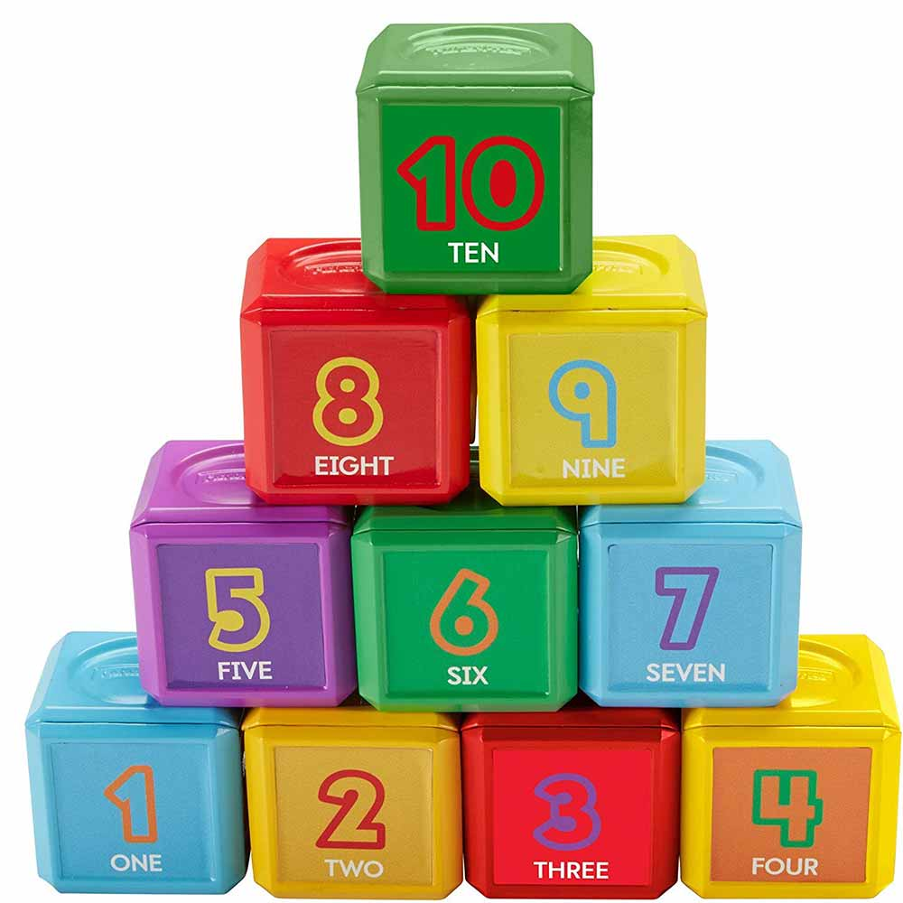 Fisher-Price Laugh And Learn First Words Number Blocks