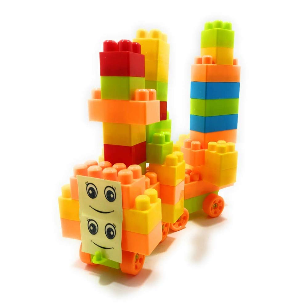 FunBlast Building Blocks for Kids with Wheel
