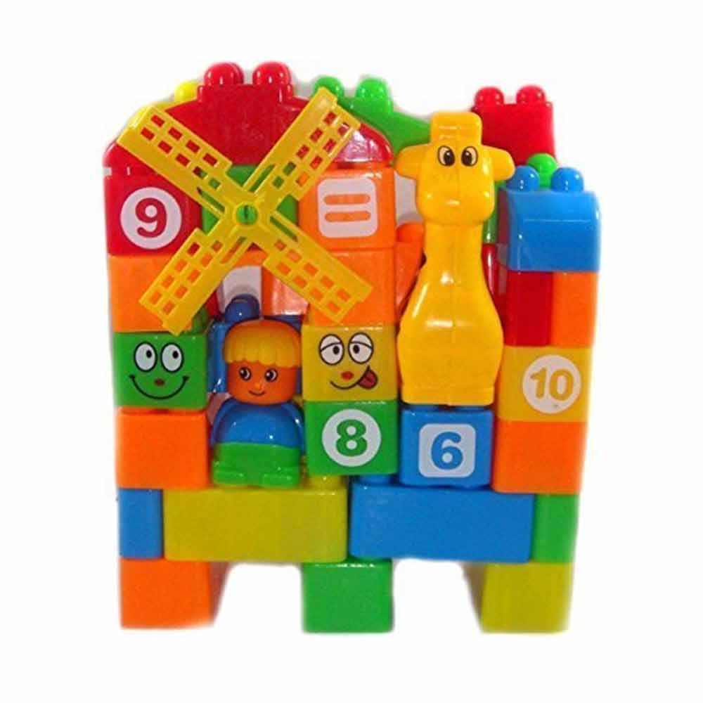 FunBlast™ Learning Blocks for Kids with Cartoon Figures