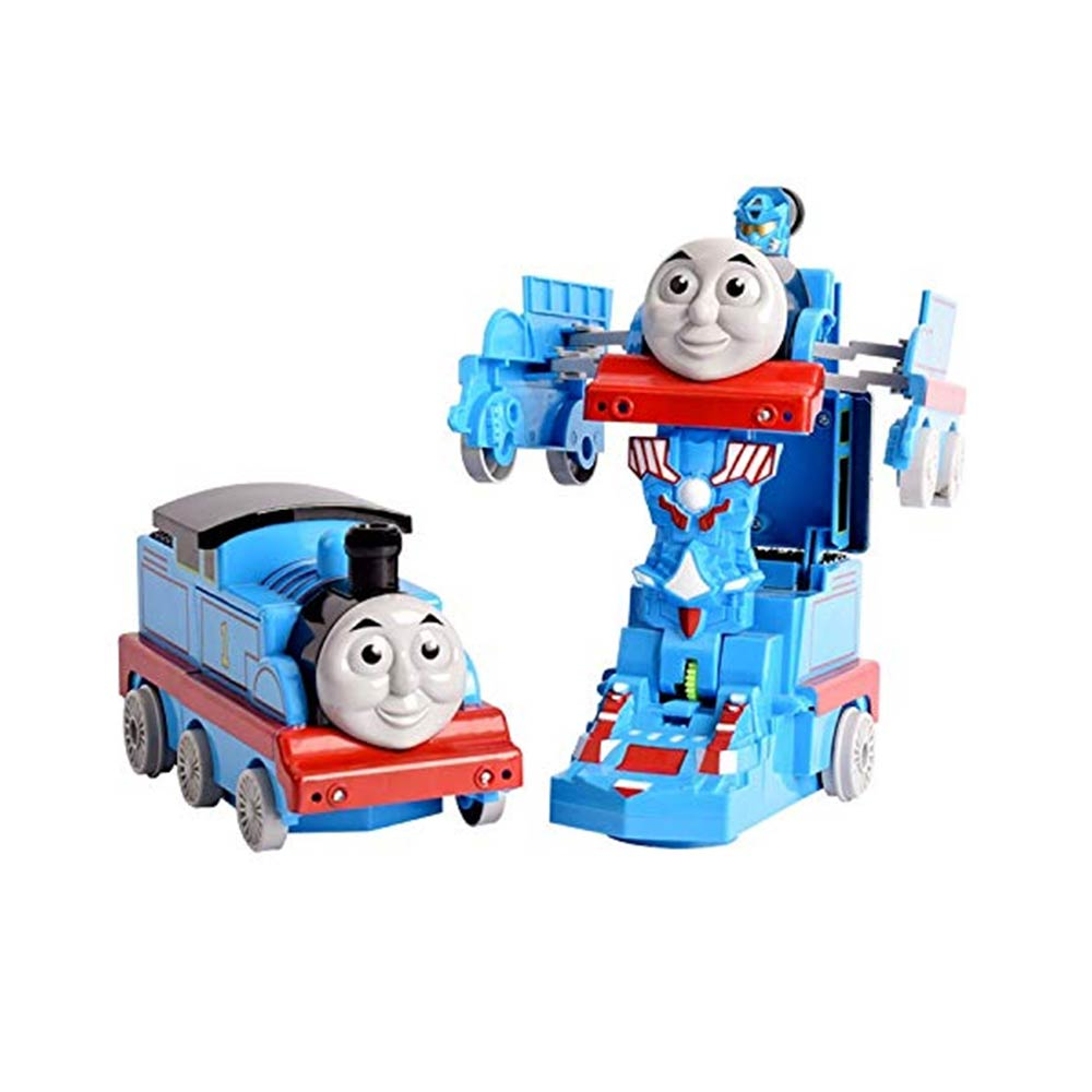 FunBlast Pull Push Back Action Robot Train Toy for Kids