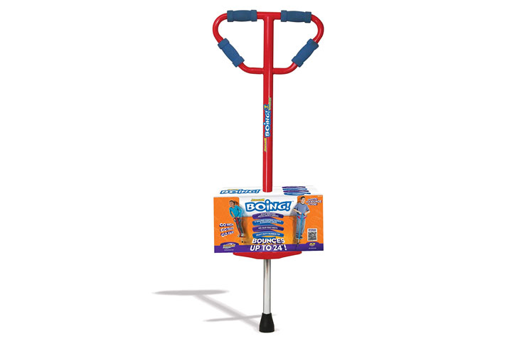 Geospace Medium Jumparoo Boing! Pogo Stick By Air Kicks, 60 To 100lbs