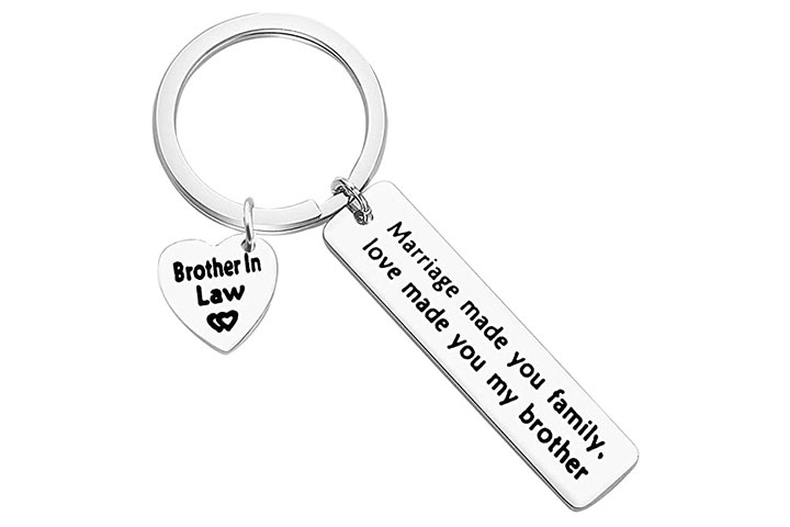 Gift Keychain With A Beautiful Message