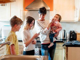 How To Create A Stay At Home Mom Schedule To Save Your Sanity