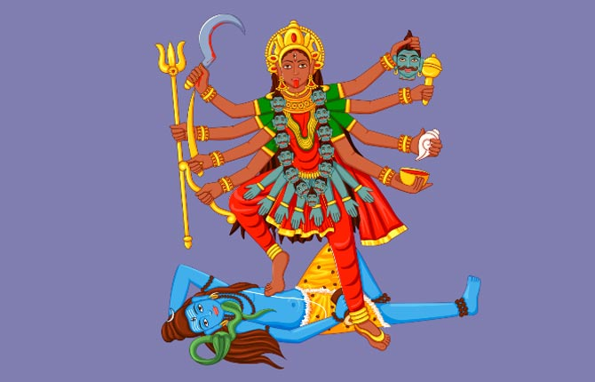 Kali Maa And Shiva Story In Hindi