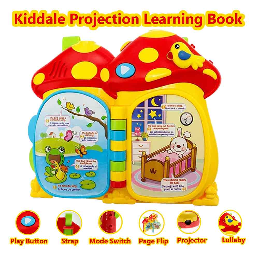 Kiddale Play and Learn Activity Cube toy