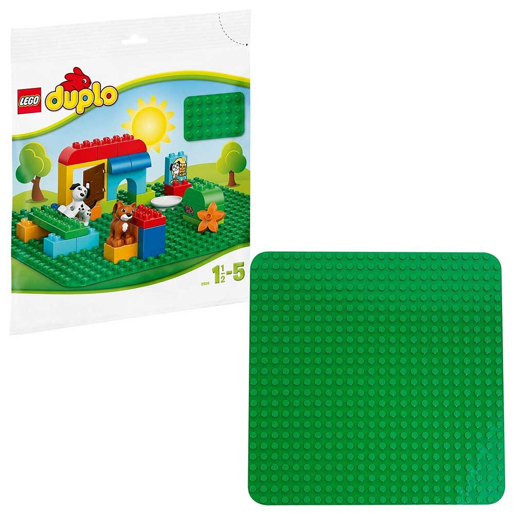 LEGO DUPLO Large Green Building Plate for Kids