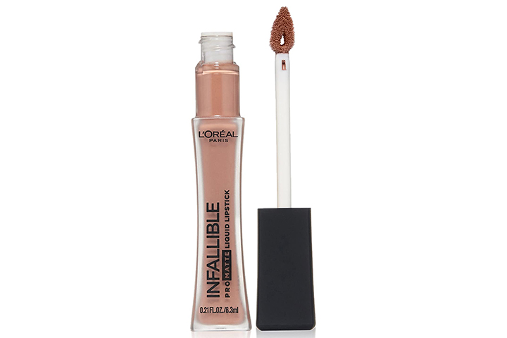 L'Oréal Paris Infallible Pro-Matte Liquid Lipstick, Nudist