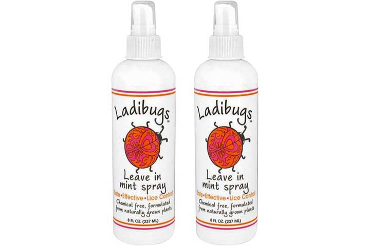 Ladibugs Lice Prevention Mint Spray