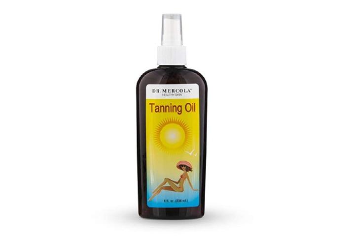 Mercola Tanning Oil