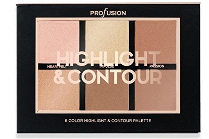 Profusion Cosmetics - Studio Icon Collection Highlight & Contour 6 Color Palette