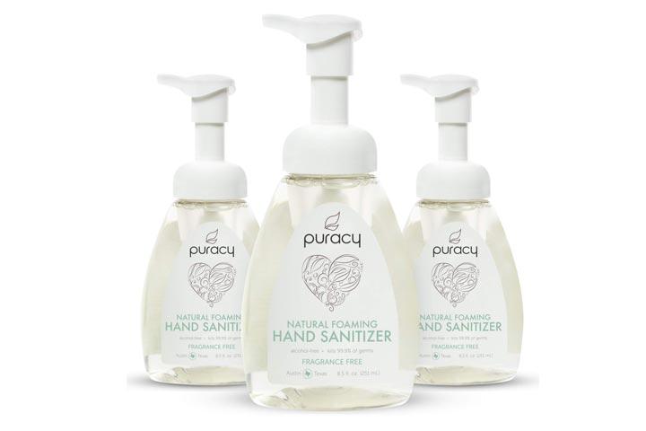 Puracy Natural Foaming Hand Sanitizer