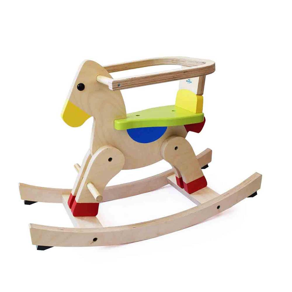 Shumee Wooden Rocking Horse
