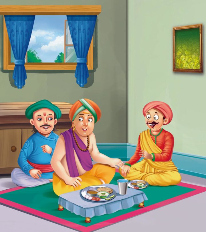 Tenali Rama And Weight Lifter-1