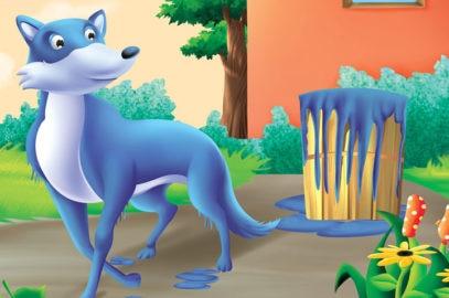 नीले सियार की कहानी | The Blue Jackal Story In Hindi