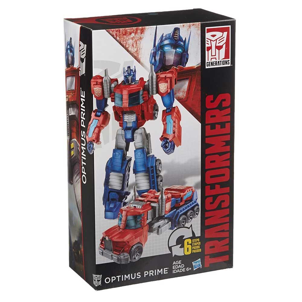 Transformers Cyber Commander Optimus Prime