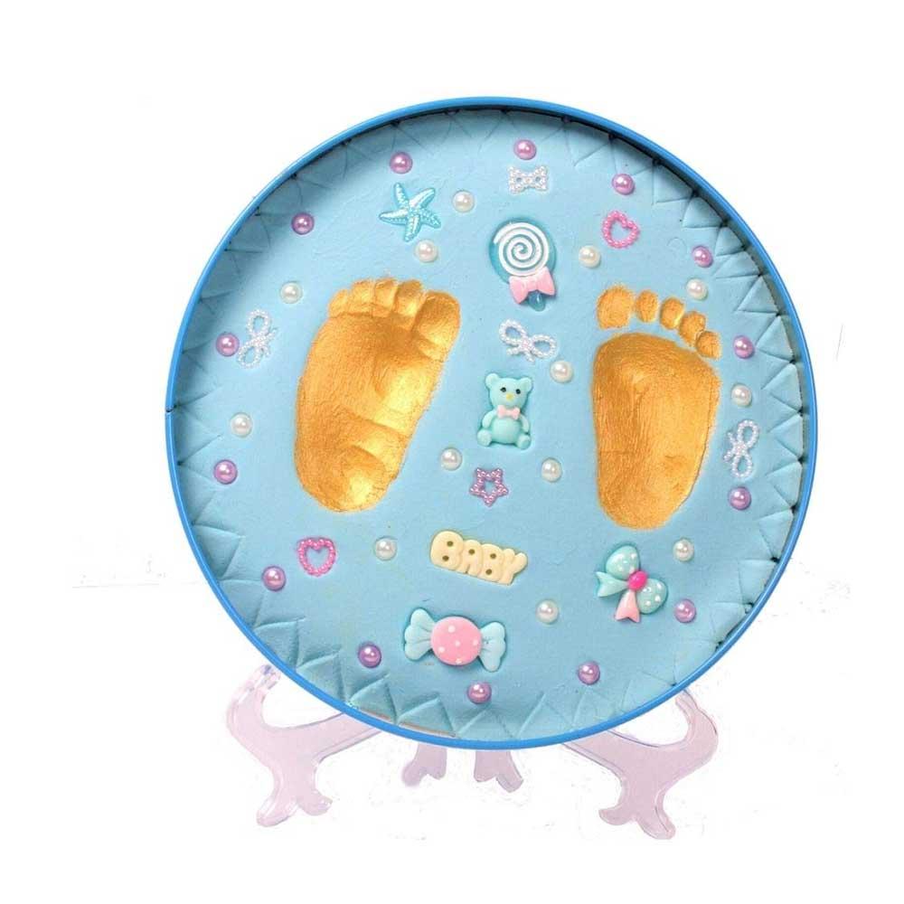 VISMIINTREND Baby Clay Handprint and Footprint Kit