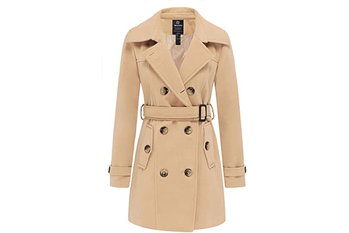 Wantdo Women's Winter Pea Coat