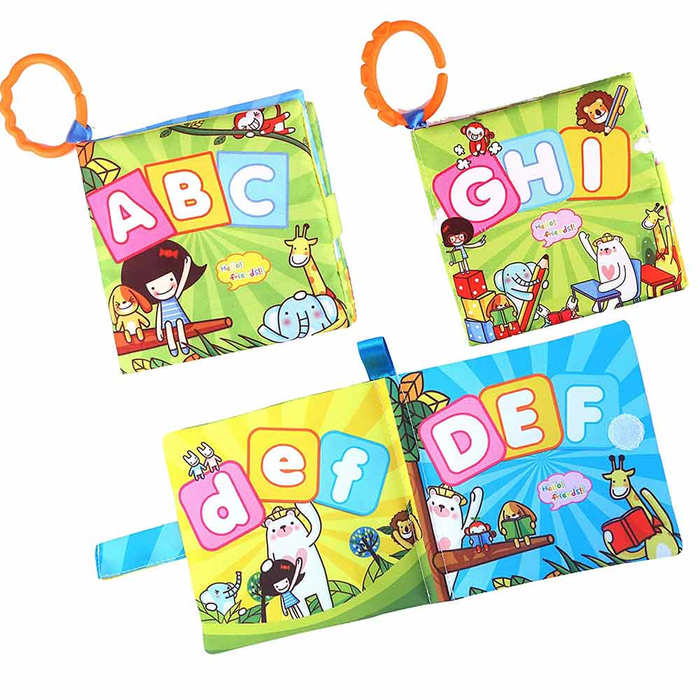 Webby Soft Cloth Book Early Learning Development Toy
