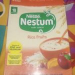 Nestle Nestum Rice Fruits Cereal-Nestle nestrum-By dharanirajesh16